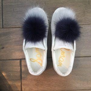 Sam Edelman Shoes- Pom Pom Sneakers